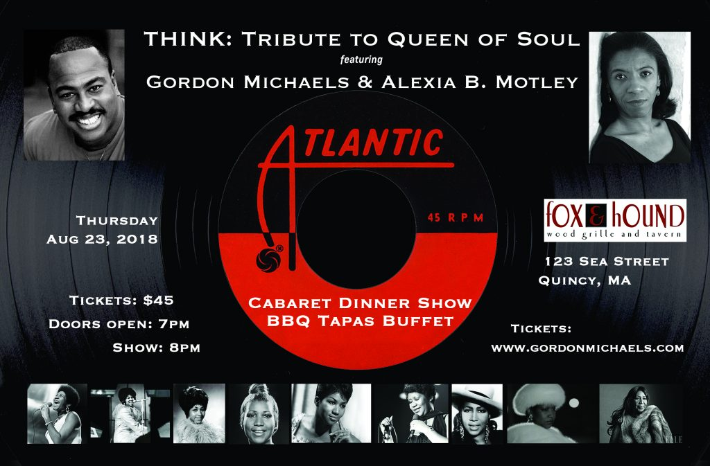 Think Tribute To The Queen Of Soul Gordon Michaels