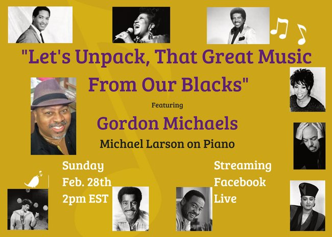 Let's Unpack, That Great Music From Our Blacks